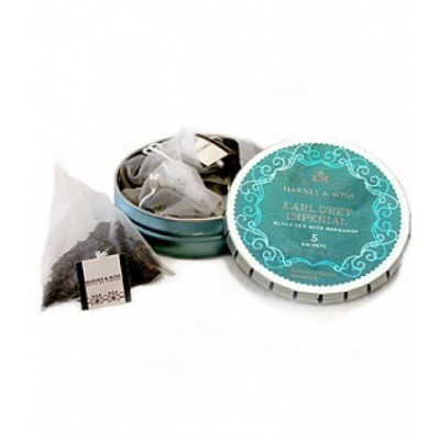 Harney & Sons čaj Earl Grey Imperial 5 hedvábných sáčků tagalong