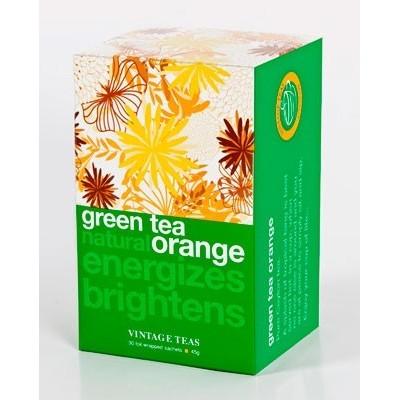 Vintage Teas Zelený čaj pomeranč 30 x 1,5 g