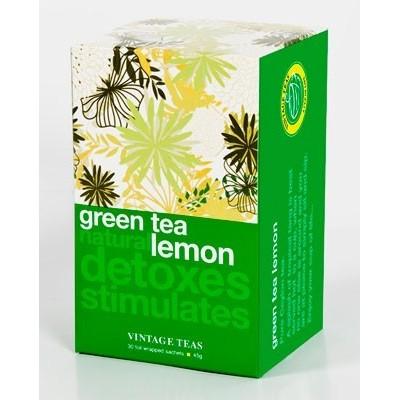 Vintage Teas Zelený čaj s citrónem 30 x 1,5 g