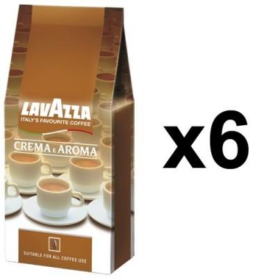 Lavazza Crema e Aroma 6x1kg zrnková káva