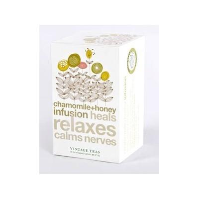 Vintage Teas bylinný čaj Heřmánek a med 30 x 1,5 g