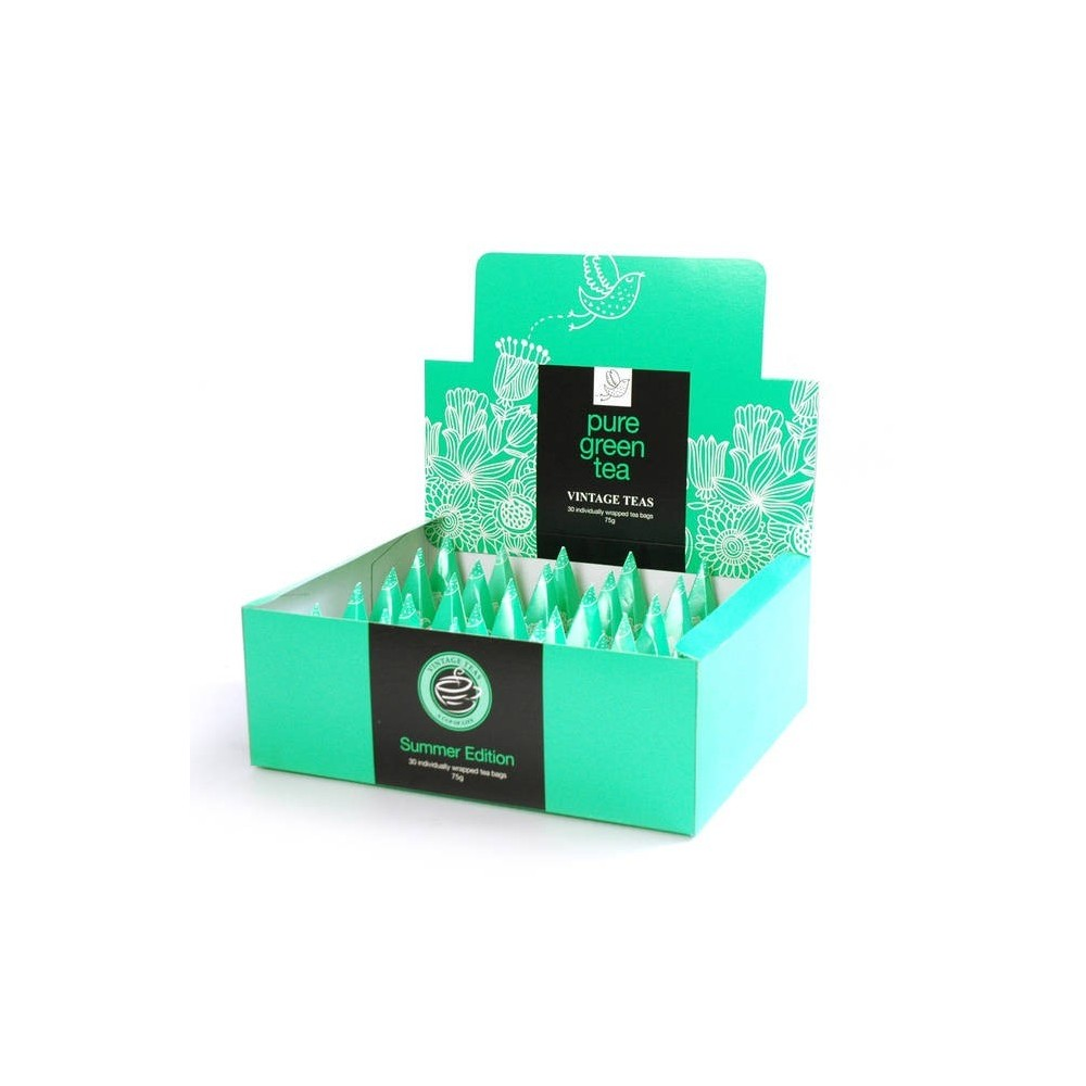 Vintage Teas Zelený čaj Gunpowder pyramidový HB 30ks