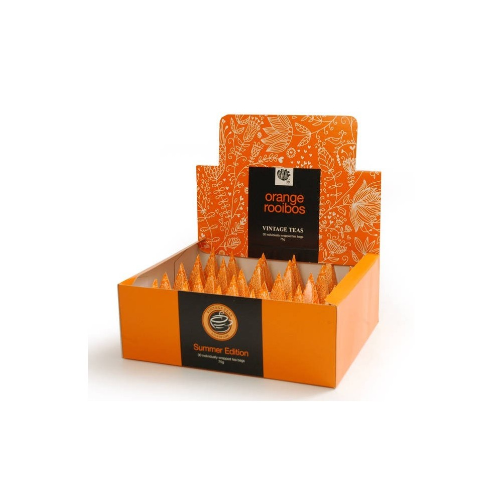 Vintage Teas Rooibos s pomerančem pyramidový HB 30ks