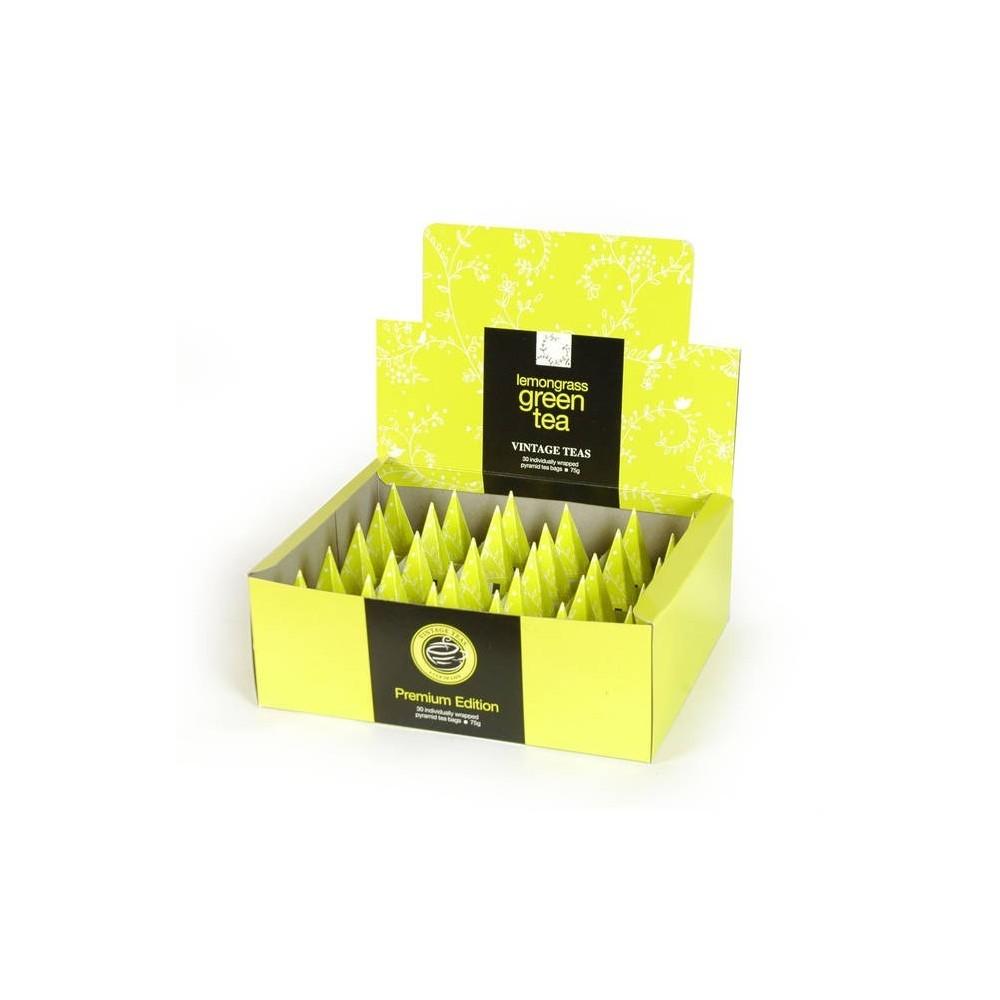 Vintage Teas Zelený s citronelou pyramidový HB 30ks