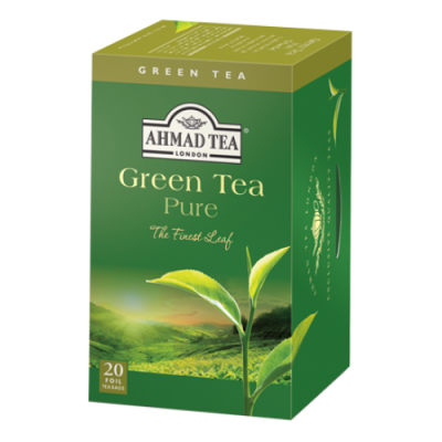 Ahmad Tea Green Tea 20 x 2 g