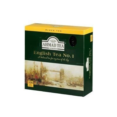 Ahmad Tea English No.1 100 x 2 g sáčků v přebalu