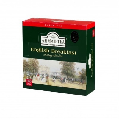 Ahmad Tea London English Breakfast 100 x 2 g sáčků v přebalu