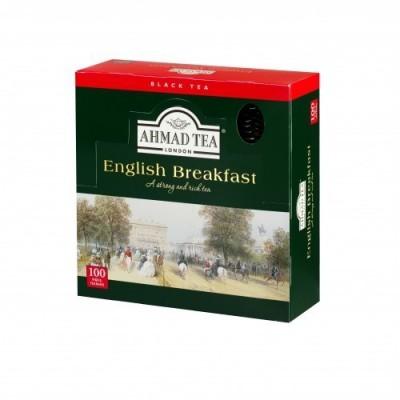 Ahmad Tea London English Breakfast 100 x 2 g sáčků v přebalu