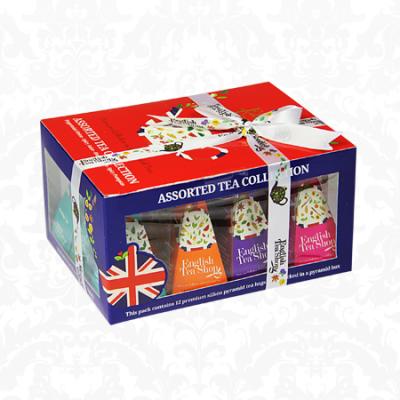 The English Tea Shop Červenomodrá dárková kolekce 12 čajů