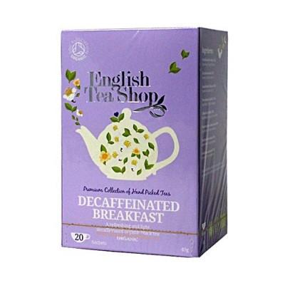 ETS English Breakfast bezkofeinu, 20 sáčků