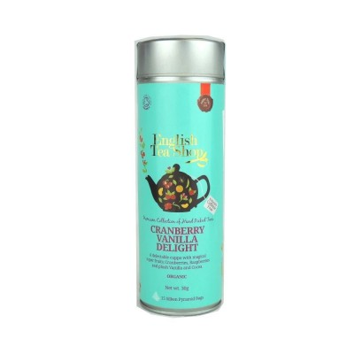 ETS Brusinka s vanilkou bez kofeinu, 15 pyramidek