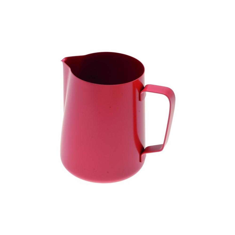 Džezva na zpěnění mléka 0,35 l červená z nerezové oceli