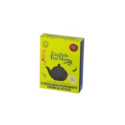 ETS Citronová tráva, máta, tropické ovoce, 15 pyramidek