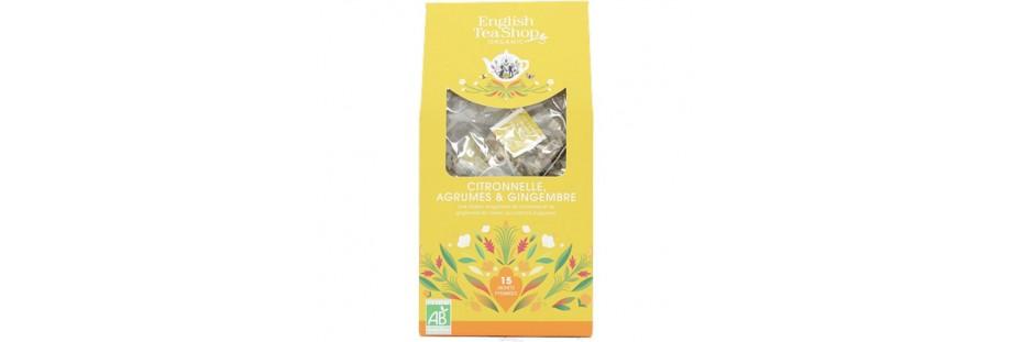 English Tea Shop čaje v papírové krabičce 16 pyramidek