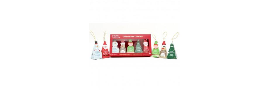 Vánoční dárková balení čajů