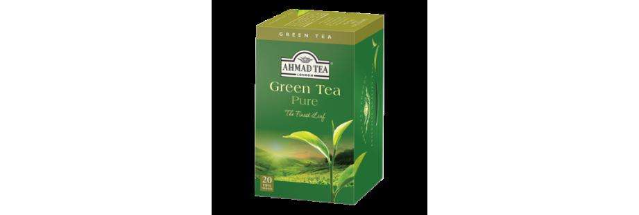 Anglické zelené čaje Ahmad Tea