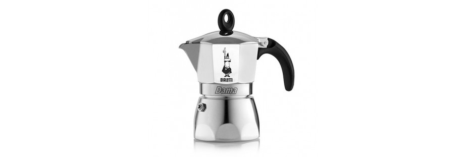 Bialetti konvička na kávu s moderním designem, model Dama