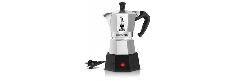 Elektrická konvička Bialetti Moka Elettrika 2 na přípravu kávy.