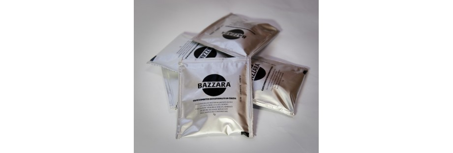 Porcovaná italská espresso káva Bazzara